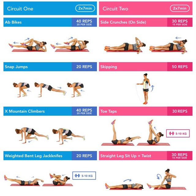 Create A Workout Schedule!